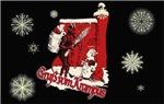 Snowy Christmas Krampus