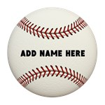 Baseball Name Customized