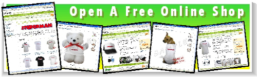 Open a free online shop and earn big money!