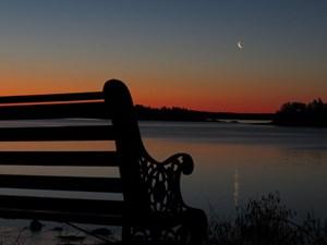 4/16 Moonrise at Sunrise