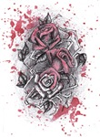 Painted Roses Shirts & Jackets