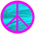 Peace Symbol Pink