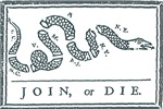 Join, or Die™cafepress/franklindesigns