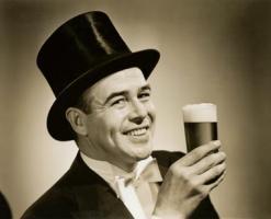 1929 Beer Drinker