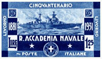 1931 Italian Navy Postage Stamp