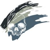 Over 30 Grimm Apparel Brushed Skull T-Shirts