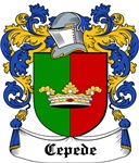 Cepede Coat of Arms, Family Crest