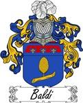 Baldi Family Crest, Coat of Arms