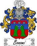 Bonomi Family Crest, Coat of Arms