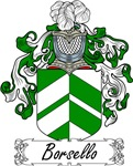 Borsello Family Crest, Coat of Arms