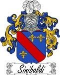 Sinibaldi Family Crest, Coat of Arms