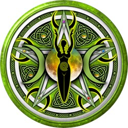 Pentacle of the Green Goddess