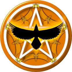 Crow Pentacle - Yellow