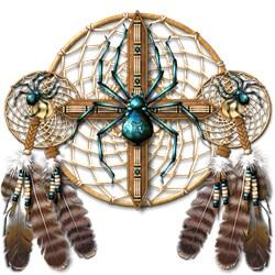 Labradorite Spider Dreamcatcher