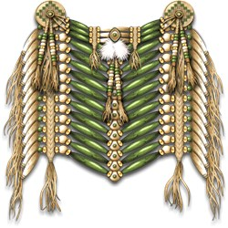 Native American Breastplate 6