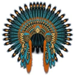 Native War Bonnet 07