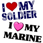 I Heart My (Soldier, Marine, Airman, Sailor, etc)