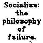 Socialism: failure.