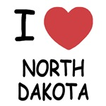 I heart north dakota
