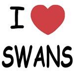 I heart swans