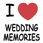 I heart wedding memories