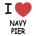 I heart navy pier