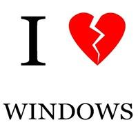 I [don't heart] Windows
