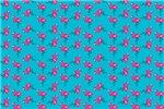 Flamingos Dancing Teal