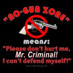 No-Gun Zone means..