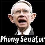 Phony Senator Harry Reid
