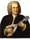 J.S. Bach on Mandolin