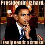 Presidentin' iz Hard.