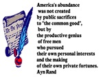 America's abundance