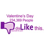 VALENTINE'S DAY - DISLIKE BUTTON