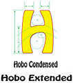 Hobo Font Specs