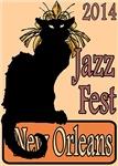 Jazz Fest New Orleans 2014 Chat Noir