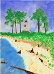 Madisonville Lighthouse Painting