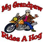 My Grandpaw Rides A Hog