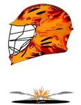 Lacrosse Helmet Fire