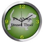 BASSET TIME Wall Clocks