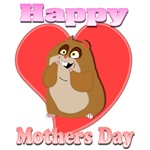 Happy Mothers Day 3D Hamster