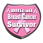Officail Breast Cancer Survivor Badge
