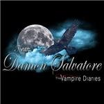 Team Damon Salvatore The Vampire Diaries Raven Moo