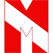 Scuba Flag Letter M