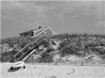 Cape Cod Beach House (b&w)