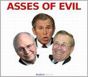 """Asses of Evil"""