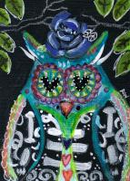 Day of the Dead Owl 1