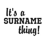 Personalize Surname