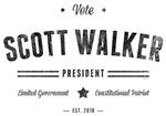 Vote Scott Walker