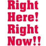 Right Here! Right Now!!: Red